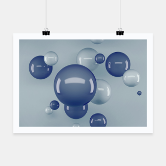 Miniatur Flying Bubbles Poster, Live Heroes