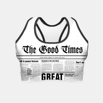 Thumbnail image of The Good Times Crop Top, Live Heroes