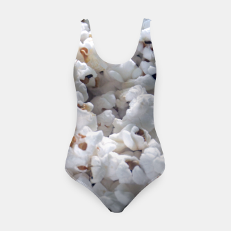 Thumbnail image of White Popped Popcorn pattern Swimsuit, Live Heroes
