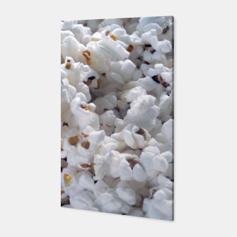 Thumbnail image of White Popped Popcorn pattern Canvas, Live Heroes