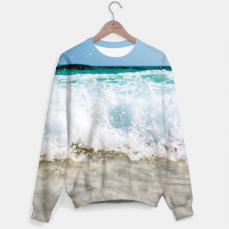 Thumbnail image of Tropical Summer Beach Sweater, Live Heroes