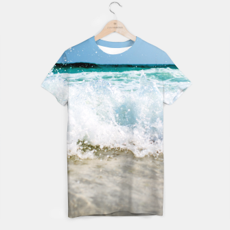 Thumbnail image of Tropical Summer Beach T-shirt, Live Heroes