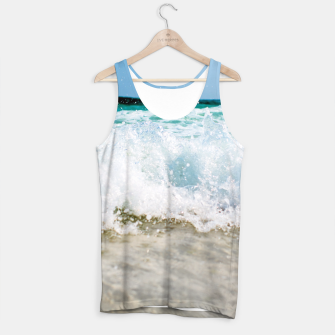 Thumbnail image of Tropical Summer Beach Tank Top, Live Heroes
