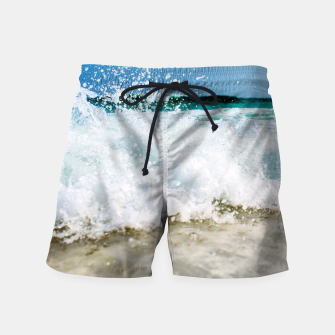 Thumbnail image of Tropical Summer Beach Swim Shorts, Live Heroes