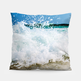 Thumbnail image of Tropical Summer Beach Pillow, Live Heroes