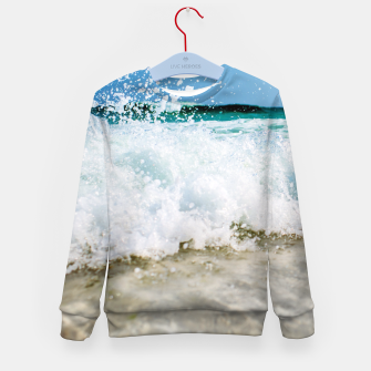 Thumbnail image of Tropical Summer Beach Kid's Sweater, Live Heroes