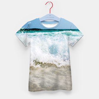Thumbnail image of Tropical Summer Beach Kid's T-shirt, Live Heroes