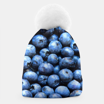 Thumbnail image of Blueberries pattern Beanie, Live Heroes