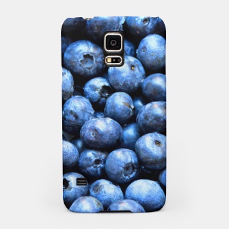 Thumbnail image of Blueberries pattern Samsung Case, Live Heroes