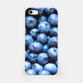 Thumbnail image of Blueberries pattern iPhone Case, Live Heroes