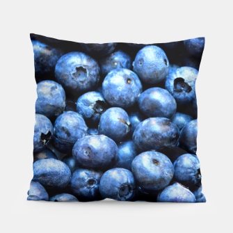 Thumbnail image of Blueberries pattern Pillow, Live Heroes