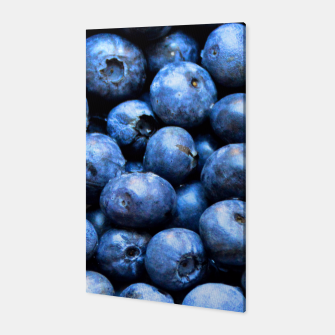 Thumbnail image of Blueberries pattern Canvas, Live Heroes