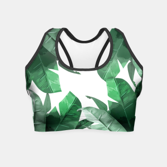 Thumbnail image of Banana Leaf Crop Top, Live Heroes