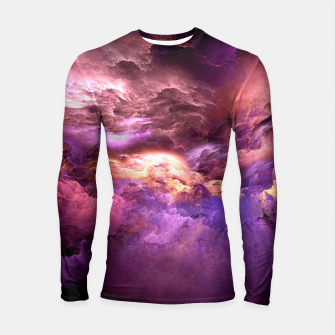 Miniatur Abstract Psychedelic Longsleeve Rashguard , Live Heroes