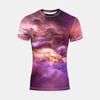 Thumbnail image of Abstract Psychedelic Shortsleeve Rashguard, Live Heroes