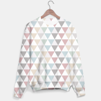 Thumbnail image of Geometric Pattern Wanderlust Pastel Sweater, Live Heroes