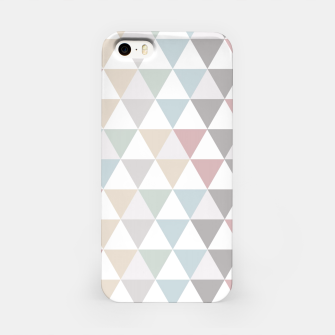 Thumbnail image of Geometric Pattern Wanderlust Pastel iPhone Case, Live Heroes