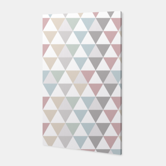 Thumbnail image of Geometric Pattern Wanderlust Pastel Canvas, Live Heroes