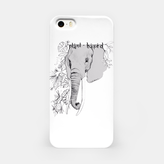 plant-based elephant Obudowa iPhone obraz miniatury