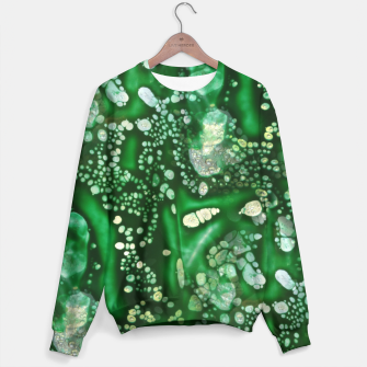 Thumbnail image of Emerald Green Sweater, Live Heroes