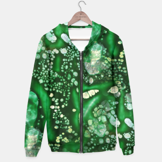 Thumbnail image of Emerald Green Hoodie, Live Heroes