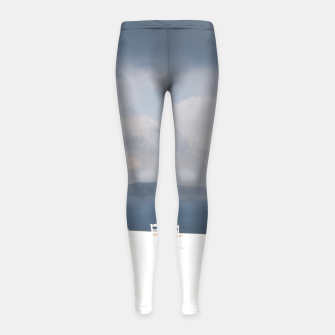 Two chairs on Santorini island Girl's Leggings thumbnail image
