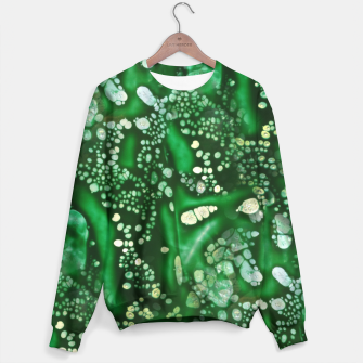 Thumbnail image of Emerald Bubbles  Sweater, Live Heroes