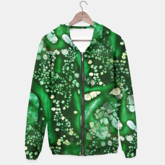 Thumbnail image of Emerald Bubbles  Hoodie, Live Heroes