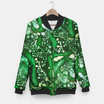 Thumbnail image of Emerald Bubbles  Baseball Jacket, Live Heroes