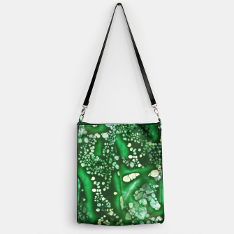 Thumbnail image of Emerald Bubbles  Handbag, Live Heroes