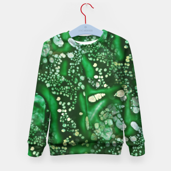 Thumbnail image of Emerald Bubbles  Kid's Sweater, Live Heroes