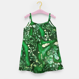 Thumbnail image of Emerald Bubbles  Girl's Dress, Live Heroes