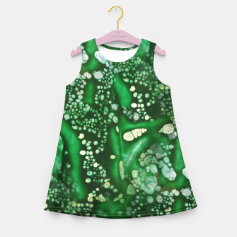 Thumbnail image of Emerald Bubbles  Girl's Summer Dress, Live Heroes
