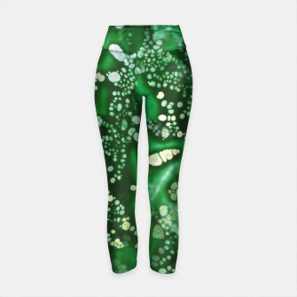 Thumbnail image of Emerald Bubbles  Yoga Pants, Live Heroes