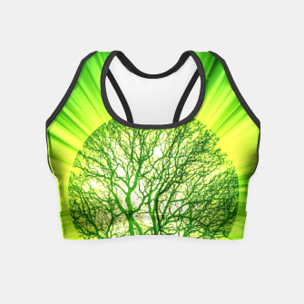 Thumbnail image of Think Green Crop Top, Live Heroes