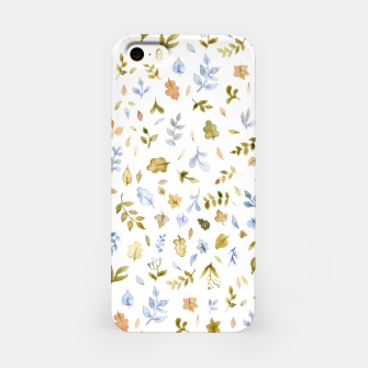 Thumbnail image of Watercolor leaf Pattern Botanicals iPhone Case, Live Heroes