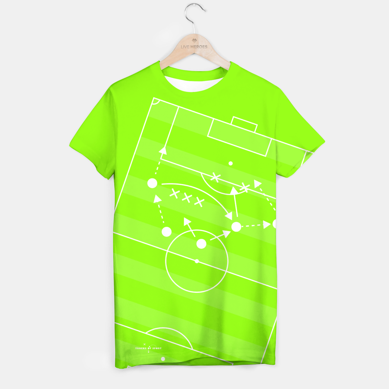 Image of football T-shirt - Live Heroes
