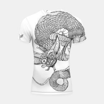 Thumbnail image of Tree Thing Shortsleeve Rashguard, Live Heroes