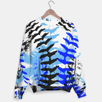 Miniaturka Baseball Abstract Blues Sweater, Live Heroes