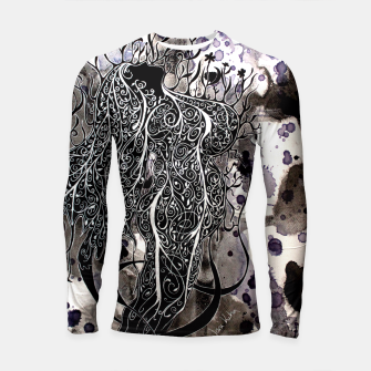 Thumbnail image of Mother Earth Longsleeve Rashguard , Live Heroes