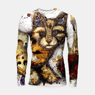 Thumbnail image of Coffee Cat Longsleeve Rashguard , Live Heroes