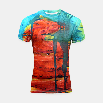 Thumbnail image of Dream Shortsleeve Rashguard, Live Heroes