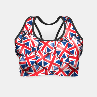 Thumbnail image of Pin it on Britain Crop Top, Live Heroes