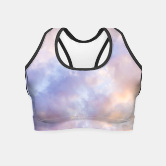 Thumbnail image of Pink sky Crop Top, Live Heroes
