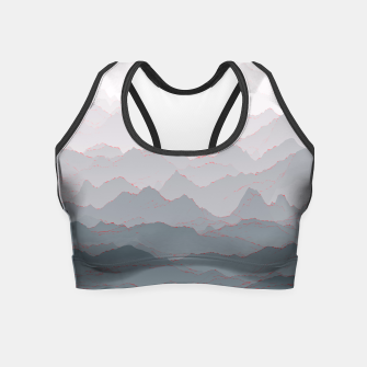 Thumbnail image of Mountains of Madness I Crop Top, Live Heroes