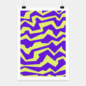 Thumbnail image of Polynoise Vibrant Royal Poster, Live Heroes