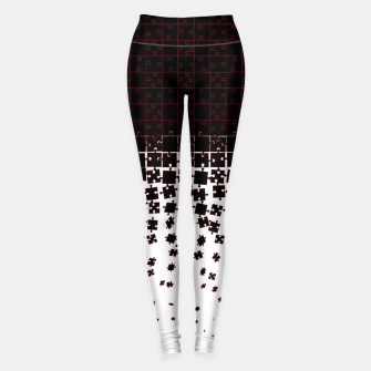 Thumbnail image of Be at Peace Not in Pieces Leggings, Live Heroes