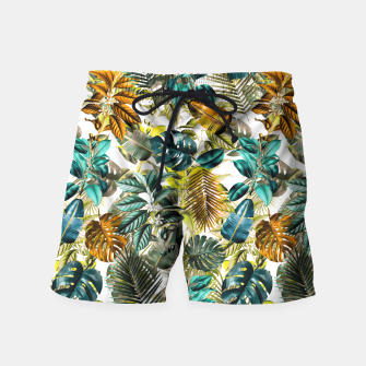 Thumbnail image of Vintage Garden Swim Shorts, Live Heroes