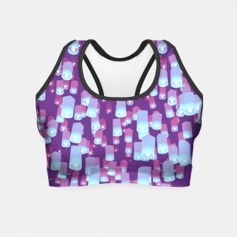 Thumbnail image of Make a Wish LILAC Crop Top, Live Heroes