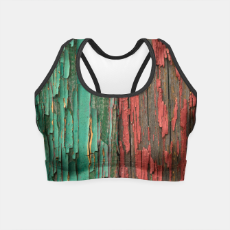 Thumbnail image of Old paint Crop Top, Live Heroes